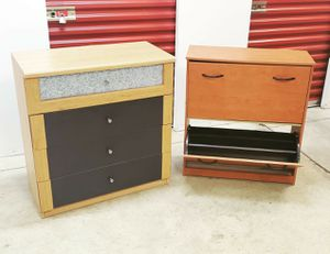 Dresser and Shoe Storage for Sale in Brentwood, MD