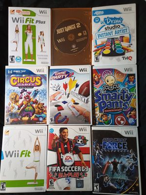Wii Games $6 each for Sale in Tampa, FL
