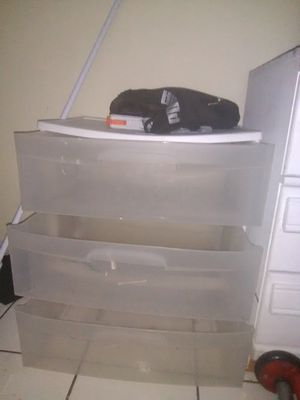Plastic drawers for Sale in Whittier, CA