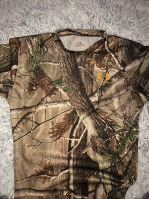 Under armour camo shirt for Sale in McAllen, TX