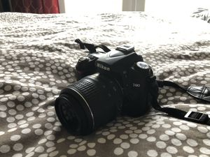 Nikon D90 DSLR camera for Sale in Cypress, CA