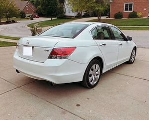 Perfect.White 2008 Honda Accord FWDWheels/beautiful.SEDAN for Sale in Washington, DC