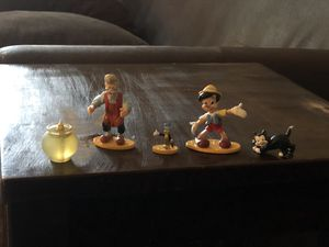 Disney's Pinocchio figures for Sale in Raleigh, NC