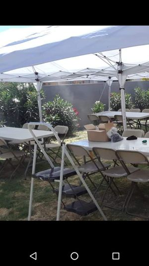 20x30 Tents with water misters for Sale in Phoenix, AZ