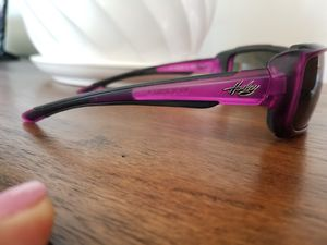 Purple Harley Davidson ridding sun glasses for Sale in Woodhaven, MI