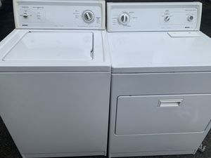 Kenmore Washer and dryer work well Free Delivery for Sale in Puyallup, WA