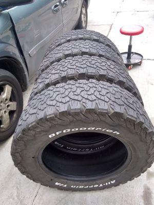 LT265/65/18 - FullSet of BF GOODRICH All-Terrain T/A KO² Baja Champion tires. for Sale in Robbinsdale, MN