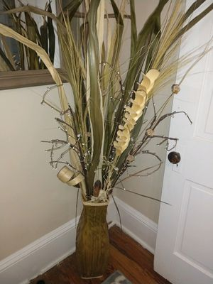 Faux standing plant with battery lighted branches for Sale in Fairfax, VA
