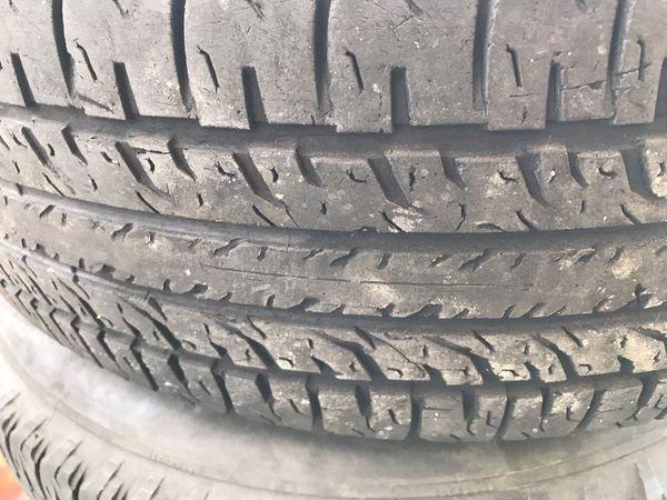 BFGoodrich Tires 80% life Black 5 spoke rim