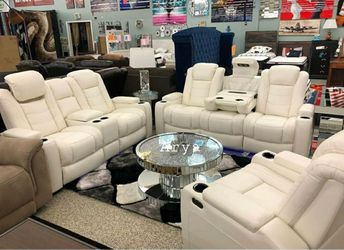 🔥Best Price Brand🆕️ Party Time Power Reclining Living Room Set for Sale in Alexandria,  VA
