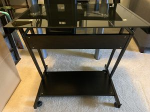 Glass Laptop Desk for Sale in Charlotte, NC