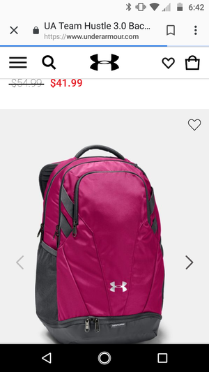 Pink under armor backpack for Sale in Mesa, AZ