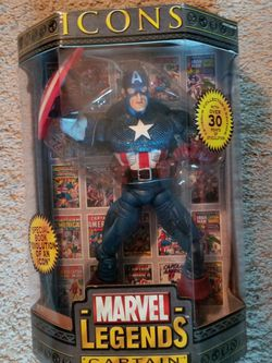 Marvel Legends Icons Captain America. for Sale in Alameda,  CA
