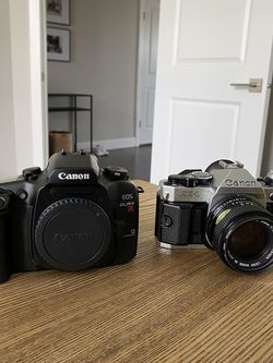 Canon Ae1 Canon Elan7 50mm for Sale in Auburn,  WA