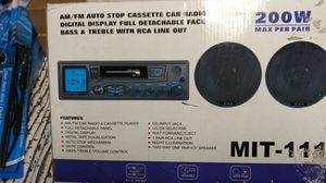 Car audio. New 3 available for Sale in Detroit, MI