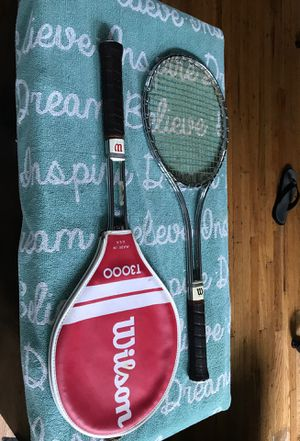 Wilson Tennis Rackets for Sale in Lyons, IL