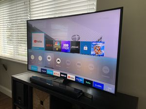 "Samsung 55"" Curved 4K UHD Smart TV KU6600 Series for Sale in Miami, FL"