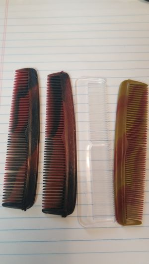 Set of four pocket hair combs - unused for Sale in Clarksburg, MD