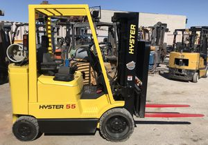 Hyster S55XMS Forklift - LPG - 2 Stage Mast w/ side shift for Sale in Las Vegas, NV