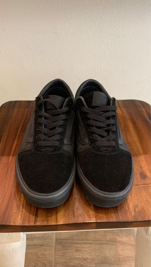 Triple Black Low Top Vans size 9.0 Mens for Sale in Lake Mary, FL