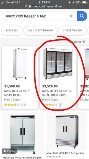 Maxx cold freezer for Sale in Hialeah, FL