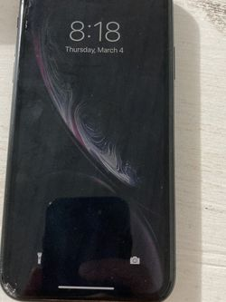 iPhone XR CRACKED FRONT for Sale in Orange City,  FL