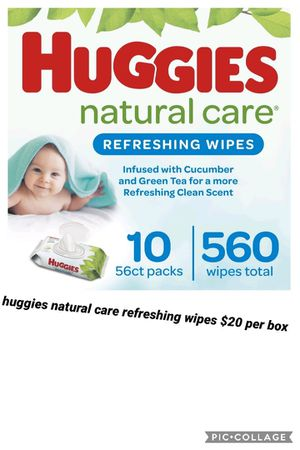 Huggies natural care refreshing wipes for Sale in Los Angeles, CA