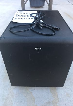 Klipsch SW-350 subwoofer for Sale in Sun City, AZ