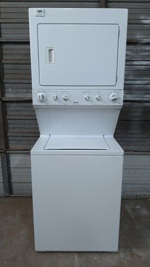 Washer and Dryer Stackable 27inches (FREE DELIVERY & INSTALLATION) for Sale in Hialeah, FL