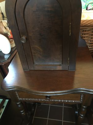 Vintage antique telephone cabinet for Sale in Hinsdale, IL