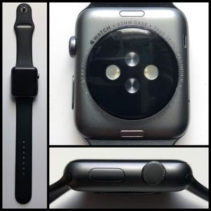 """Apple Watch Series 1 x Space Grey x 42"""" x Used for Sale in Seattle, WA"""