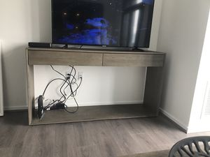 """Crate and Barrel """"Ethan"""" Console Table / TV Stand for Sale in Arlington, VA"""