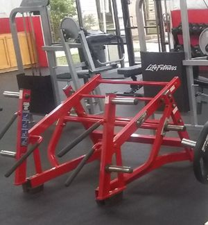Hammer strength lunge/ squat for Sale in Houston, TX