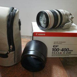 Canon EF 100-400mm f/4.5-5.6L IS USM for Sale in West Bloomfield Township, MI