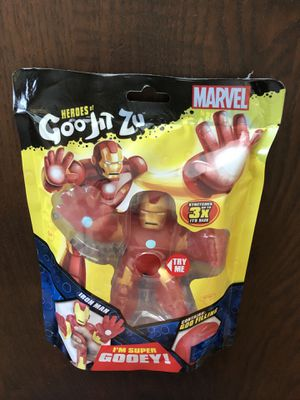 Heroes of Goo Jit Zu Marvel Iron Man for Sale in Sacramento, CA