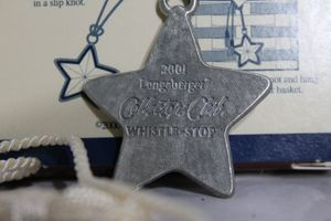 Longaberger 2001 Whistle-Stop Tie On Charm for Sale in Camp Hill, PA