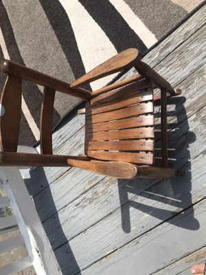 Kids wood chair for Sale in Chelsea, MA