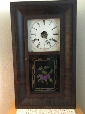 Works Greats All Original Parts 1840 Ansonia ShelfMantel Clock for Sale in Anoka, MN