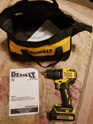 Dewalt brushless drill 20v for Sale in Mansfield, TX