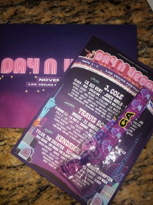 Day N Vegas Ticket 3 day GA for Sale in Moreno Valley, CA