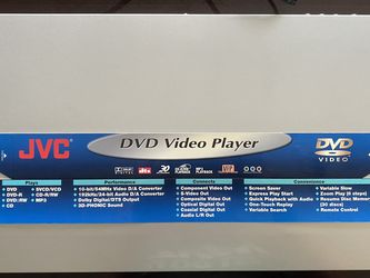 JVC DVD Video Player for Sale in Portland,  OR