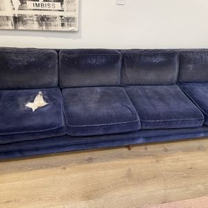 Vintage Blue Shade Couch for Sale in Los Angeles, CA