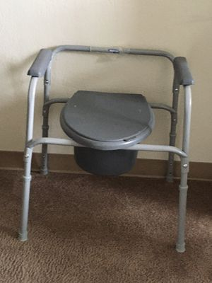 Commode to use as is or over toilet for Sale in Sioux City, IA