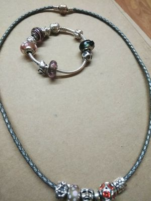 """Authentic Pandora Necklace 22"""" long and bracelet 6 1/2"""" long . for Sale in Charlotte, NC"""