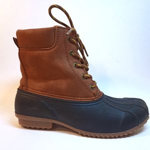 UNIVERSAL THREAD Black & Brown Insulated Lace Up Snow Boots Woman's Size 6 NEW for Sale in Mission Viejo, CA