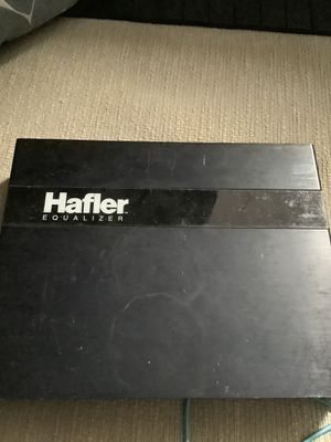 Hafler Equalizer / Cross over a Division of ROCKFORD FOSGATE Corporation! for Sale in Scottsdale, AZ
