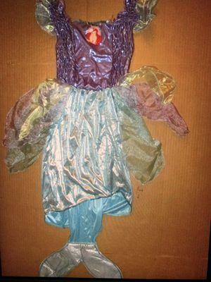 Ariel Little Mermaid Costume Disney Store sz 6x for Sale in Chelmsford, MA