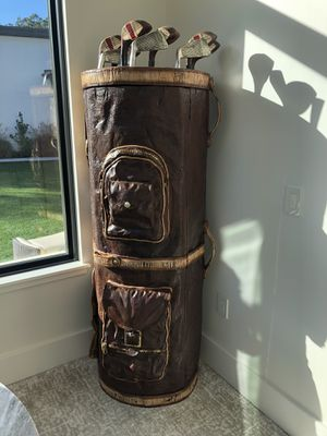 Golf bag hidden storage bar or game cabinet for Sale in Austin, TX