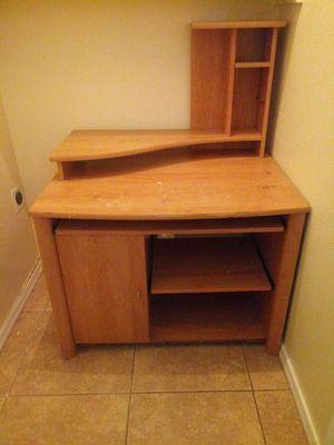 Wood desk for Sale in Glendale, AZ