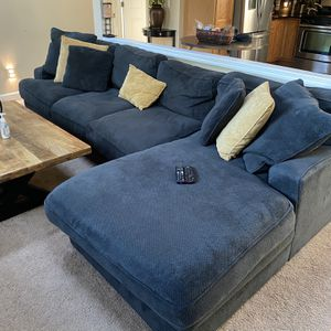 Charcoal Grey 4 Piece Sectional Couch/Sofa for Sale in Seattle, WA